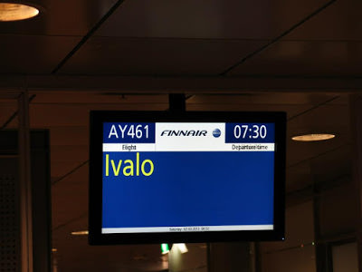 fids to ivalo