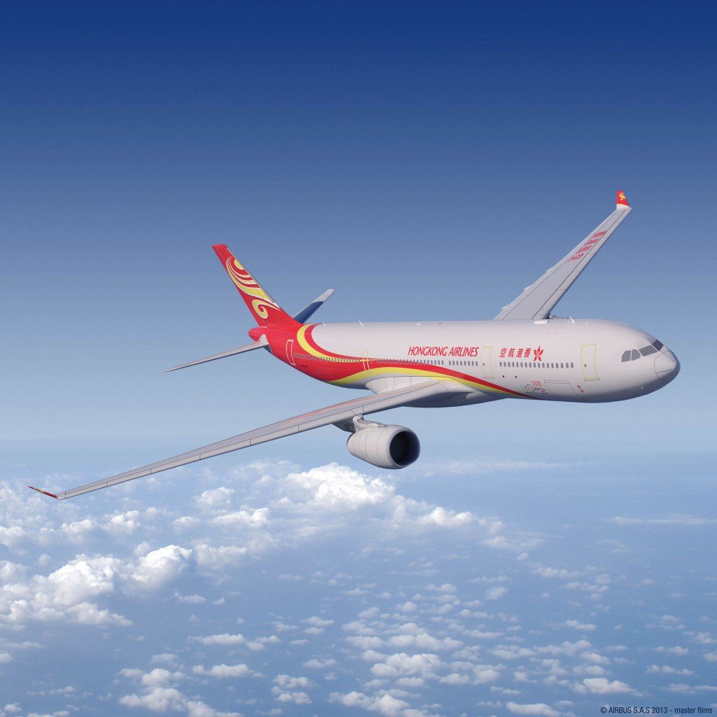 Hong Kong Airlines A330-300 Aircraft